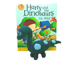 Bags of Imagination Book & Toy Set - Harry & the Dinosaurs Go Wild