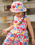 Toby Tiger Butterfly Flower Print Party Dress