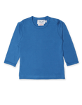Toby Tiger Organic Blue Basics Long Sleeved Tee