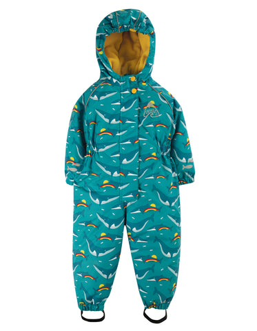 Frugi Explorer All In One Waterproof - Rainbow Whales