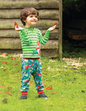 Frugi Parsnip Pants - Woodland Critters