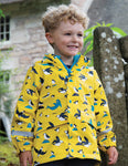 Frugi Puddle Buster Coat - Sunflower Puffling Away