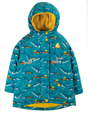 Frugi Explorer Coat - Rainbow Whales