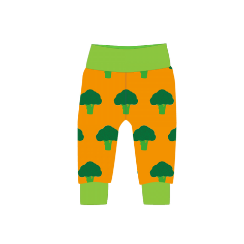 Pikolo Cuffed trousers - Mustard Broccoli