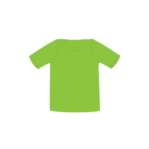 Pikolo Short Sleeved Tee - Lime Green