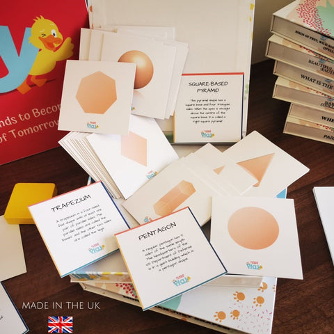 Teddo PLay Learning Cards - More than just shapes!