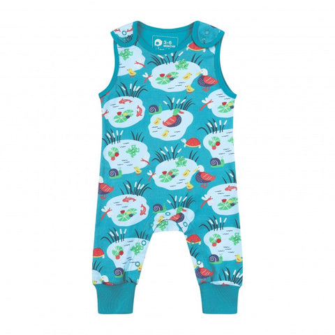 Piccalilly Pond Life Dungarees
