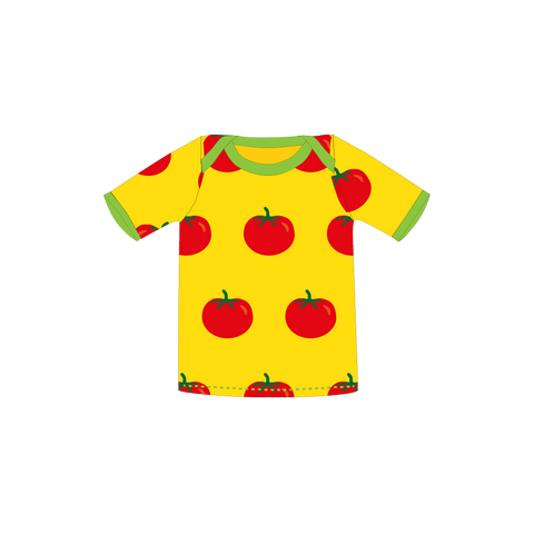 Pikolo Short Sleeved Tee - Yellow Tomato
