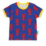 Toby Tiger Lobster Print T-shirt