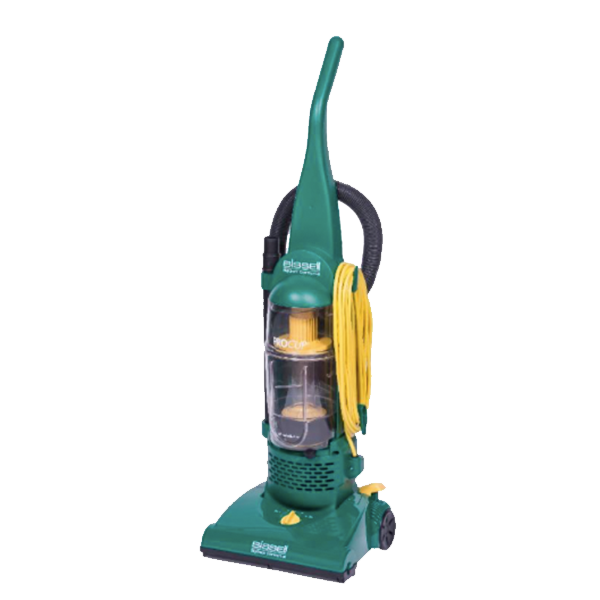 "BISSELL BigGreen Commercial BGU1937T 13.5"" Pro Cup Bagless Upright Vacuum with On-Board Tools"
