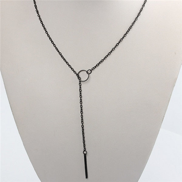 Lora Circle Holder Necklace (Medical)