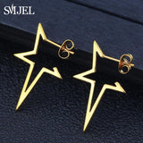 Lora Star Earrings (Medical)