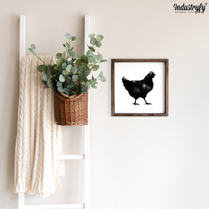 "Farmhouse Design Schild ""Chicken"""