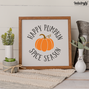 Farmhouse Design Schild Herbst