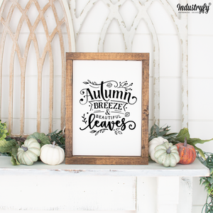 Farmhouse Design Herbst Schild