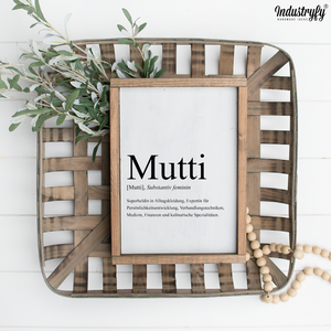 Farmhouse Design Schild zum Muttertag