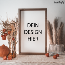 "Laden Sie das Bild in den Galerie-Viewer, Farmhouse Design Schild ""Sonderanfertigung durch Dateiupload"""