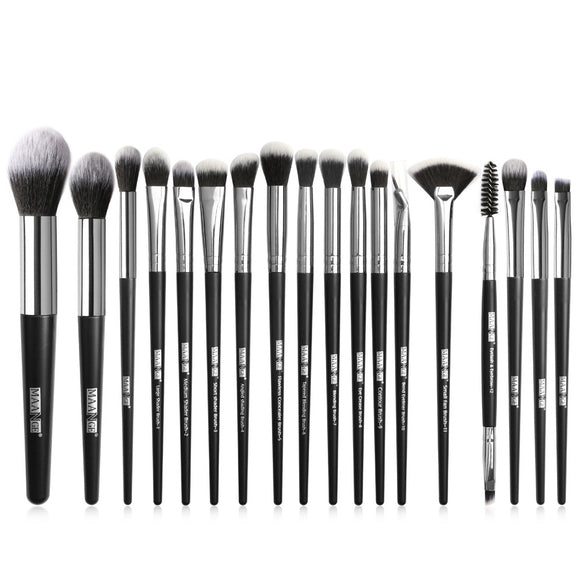 18pcs Makeup Brush Sets with Brush Bag BeautyTools