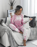 Tie Dye Two-Piece Set Loungewear