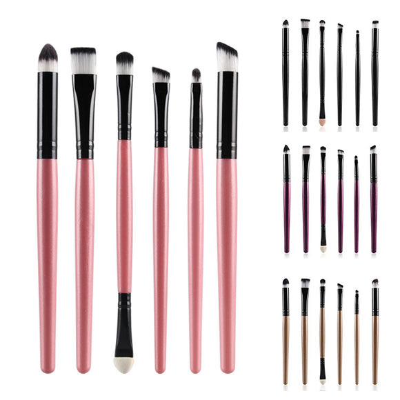 6pcs Makeup Brush Sets Beauty Tools Loose Eyeshadow Brush