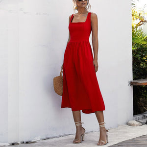 Womens Sexy Backless Suspenders Halter Dress Maxi Dresses