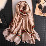 Vogue Scarf for Women Shawl Wraps Holiday Gift Floral Scarves Women