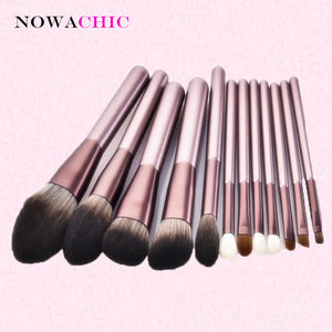 12pcs Makeup Brush Sets Beauty Tools