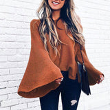 Women's Loose Bat Sleeve Sweater