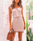 Sexy V Neck Casual Party Mini Bodycon Dresses