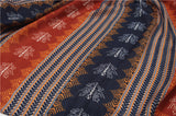 Tassel Twill Cotton Printed Scarf Ethnic Shawl for Women Ladies Girls
