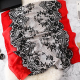 Elegant Fashion Print Silk Scarf Shawl Wrap for Women Ladies Girls 90x180