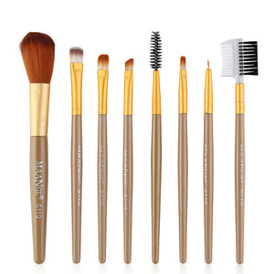 8pcs Makeup Brushes Set Powder Foundation Blush Blending Eyeshadow Lip Cosmetic Brush Beauty Tool