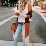 Women's Long Open Cardigan Sweater