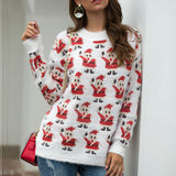 Christmas Santa Claus Long Sleeve Sweater
