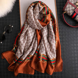 Vogue Pattern Long Thick Scarf for Women