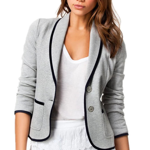 Women's Fashion Slim Blazer