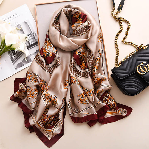 Vogue Floral Scarf for Women Magnificent Scarves Women