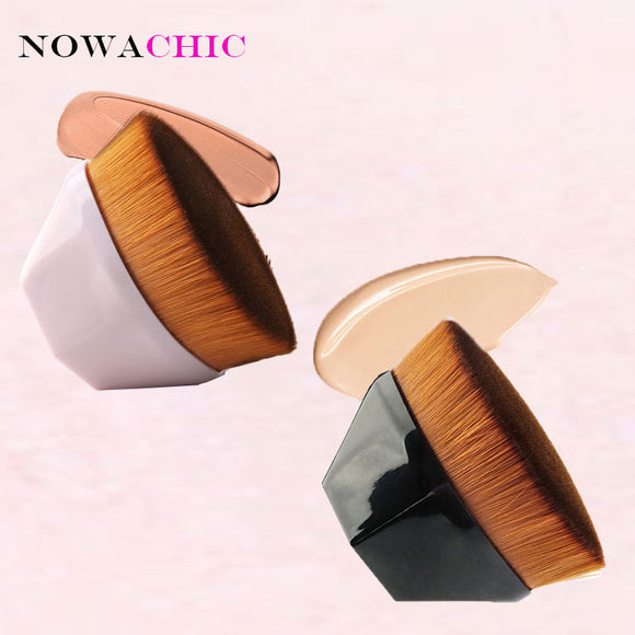 Newest Foundation Brush BB Cream Makeup Brushes Loose Powder Brush Flat Kit Maquiagem Kabuki Brushes