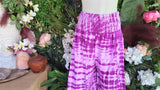 Plus Size Relaxed Fit Beach Bohemian Tie Dye Pants Elastic Waist Size 22-24