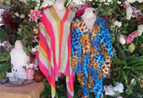 Oversized Relax Fit Beach Cover-Up Bohemian Kaftan 2 Pack Size 12-14