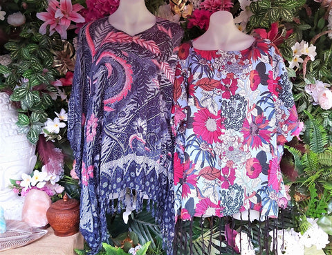 Oversized Beach Summer Bohemian Kaftan 2 Pack Size 16-20