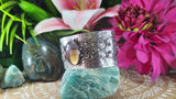 Fluorite Crystal Gemstone Protection Bangle (B100)