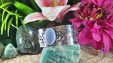 Owyhee Blue Opal Confidence Adjustable Bangle (B98)