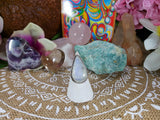 Rainbow Moonstone Compassion Ring Size US 7.5 (E445)
