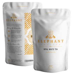 Golden Tip White Tea (Extra Special Ceylon) | 60+ Cups | Gold Flavorful Organic Leaves | Natural Premium Full Leaf Tea | Perfect Hot & Iced Tea