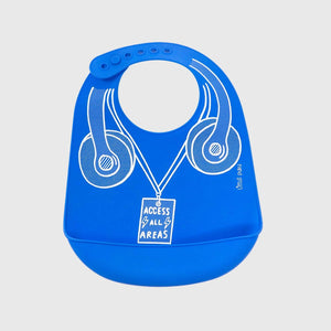 Little Puku Feed me Beats Baby Bib
