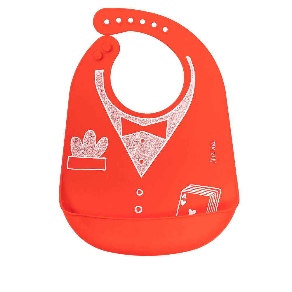 Load image into Gallery viewer, Little Puku What Happens in Vegas Baby Bib