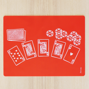 Little Puku Poker Face Table Mat