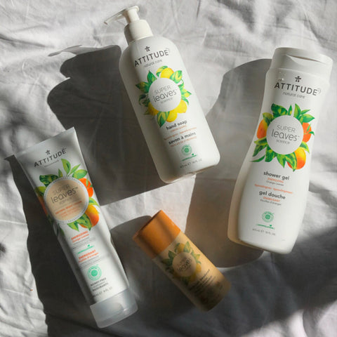 ATTITUDE Super leaves™ body care products