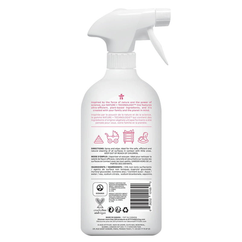 ATTITUDE Nature+ Toy & Surface Cleaner Fragrance-free _en? _back?